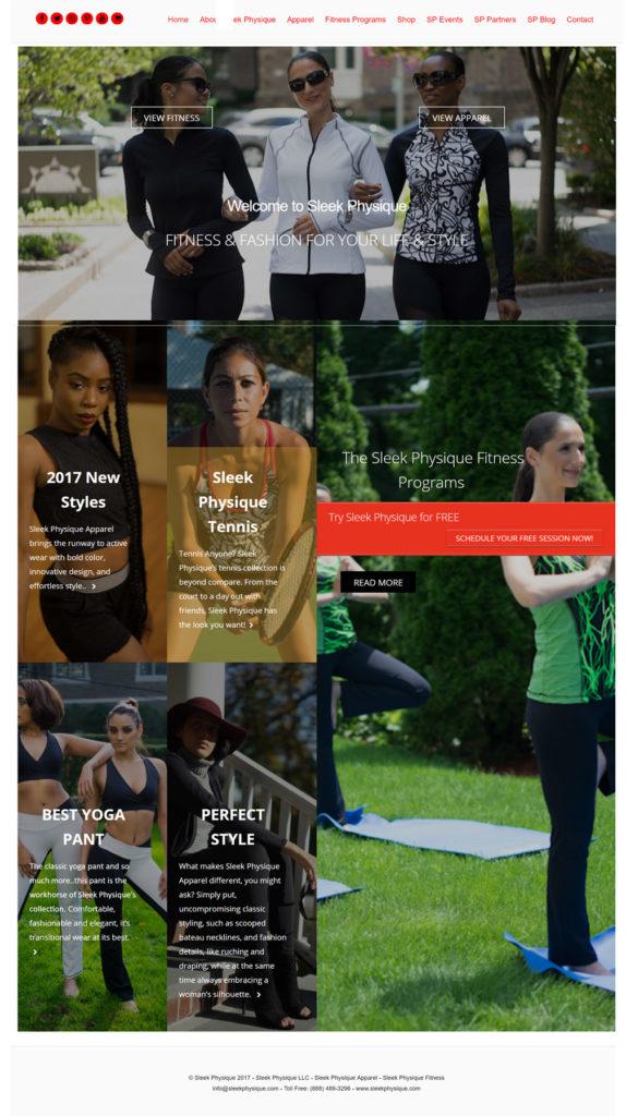 Sleek Phsyique - Website