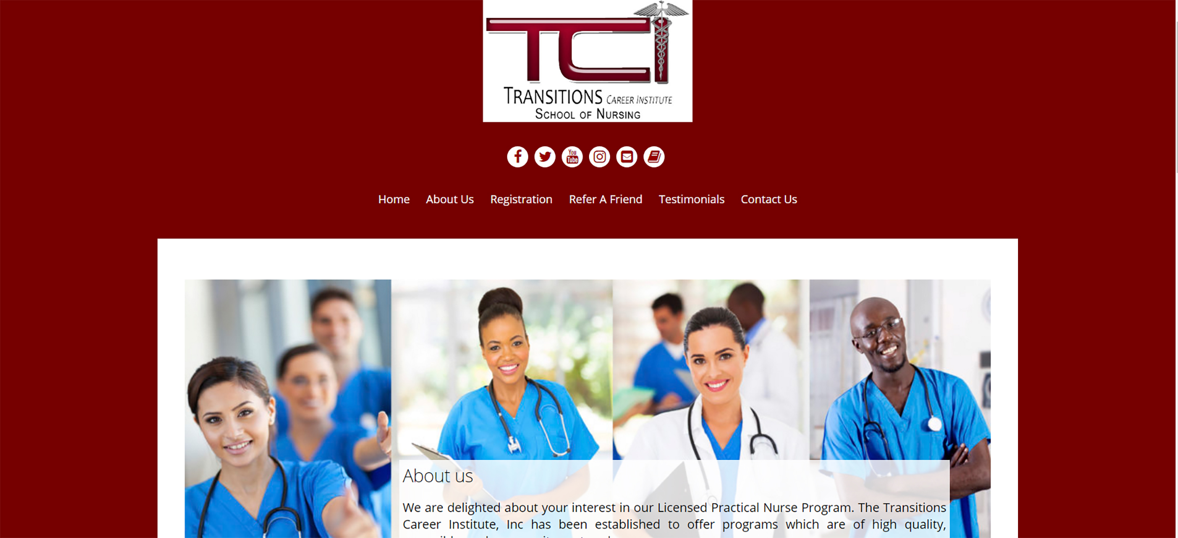 Transitions Career Institute School of Nursing